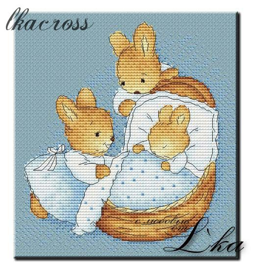 XStitch pattern Little bunny