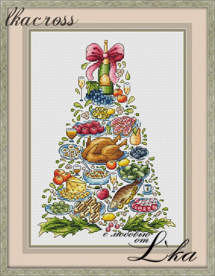 XStitch pattern Christmas tree