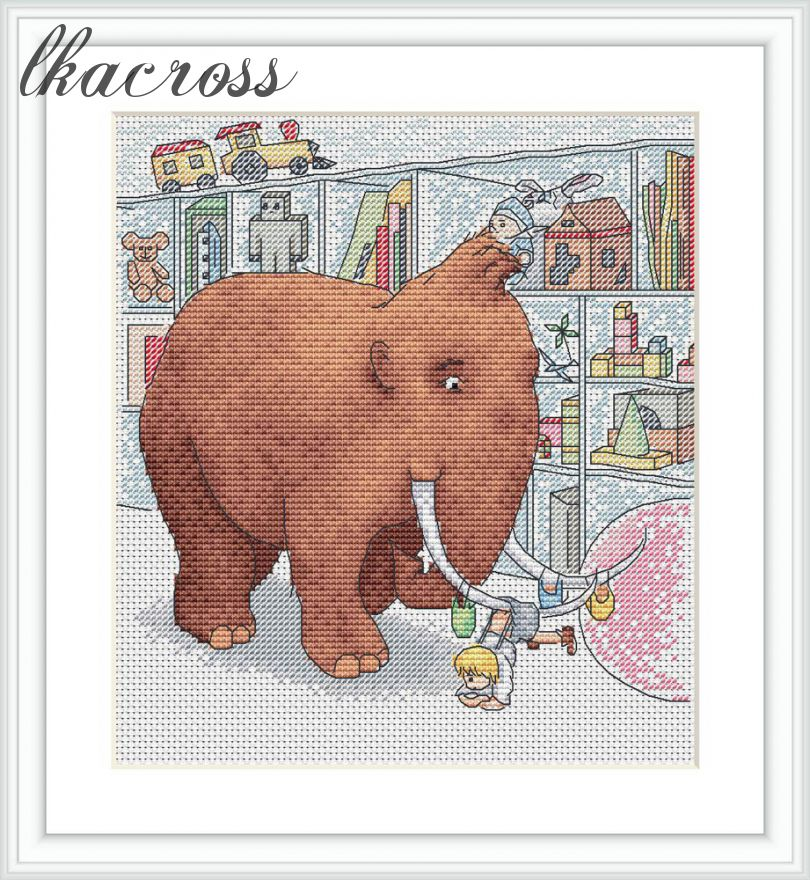 XStitch pattern In the store