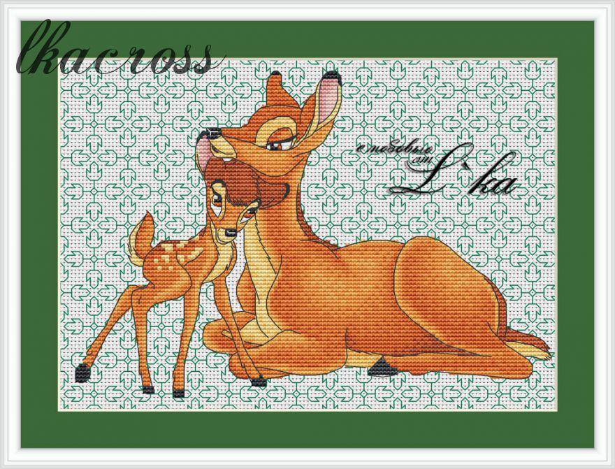 XStitch pattern Bambi