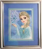 "Cross stitch pattern ""Elsa""."