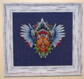 "Cross stitch pattern ""Fox1""."