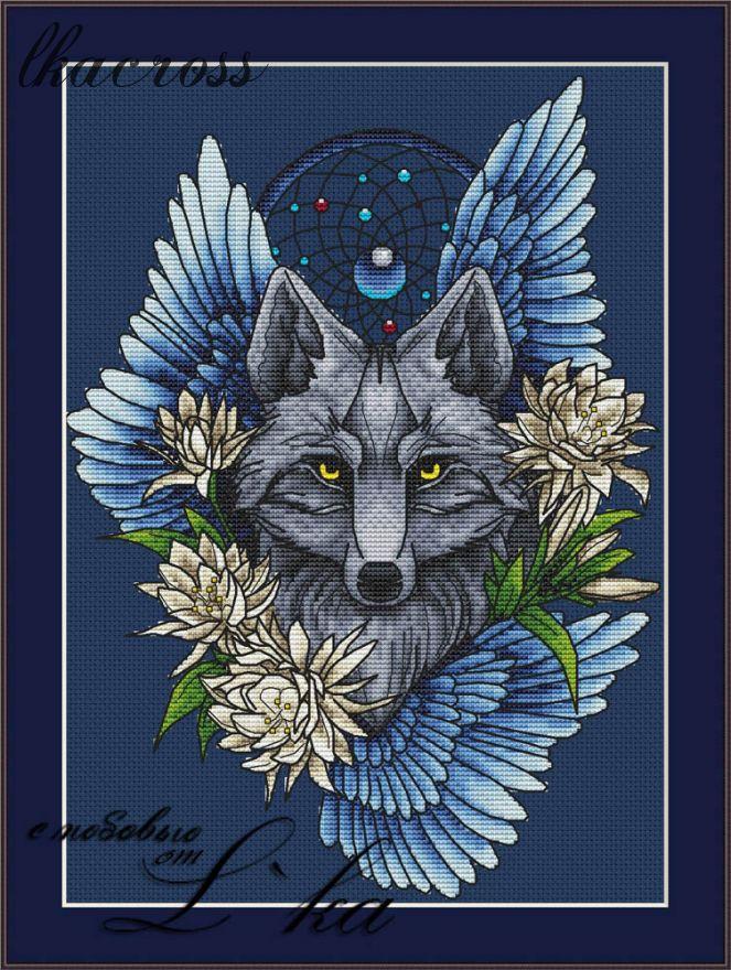 XStitch pattern Wolf1