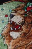 """Cross stitch pattern """"Lion2""""."""