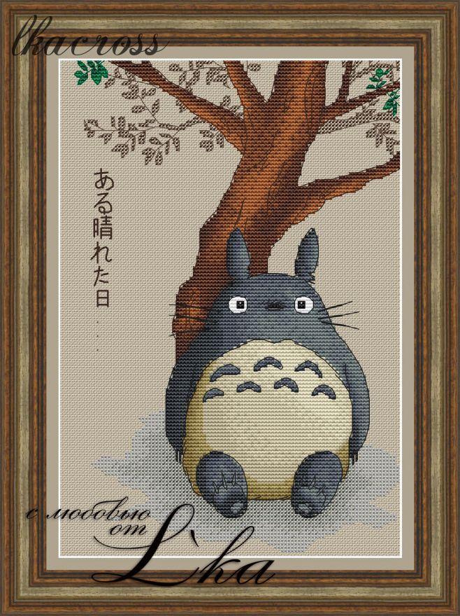 XStitch pattern Totoro