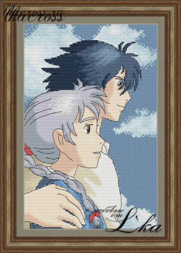 XStitch pattern Howl's moving castle - 2
