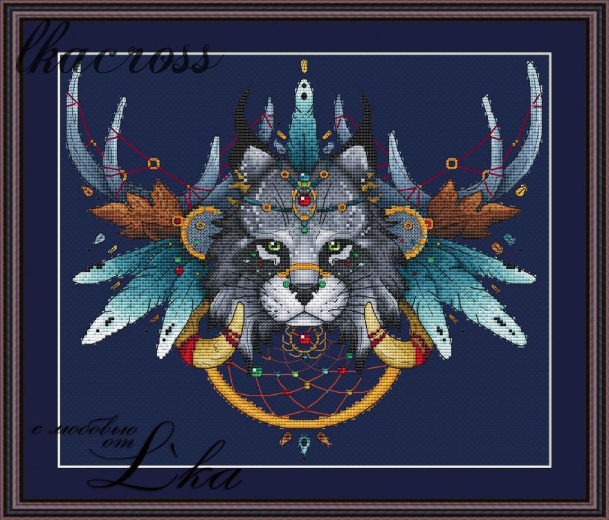 XStitch pattern Lynx
