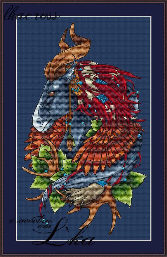 XStitch pattern Horse