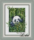 "Cross stitch pattern ""Panda""."