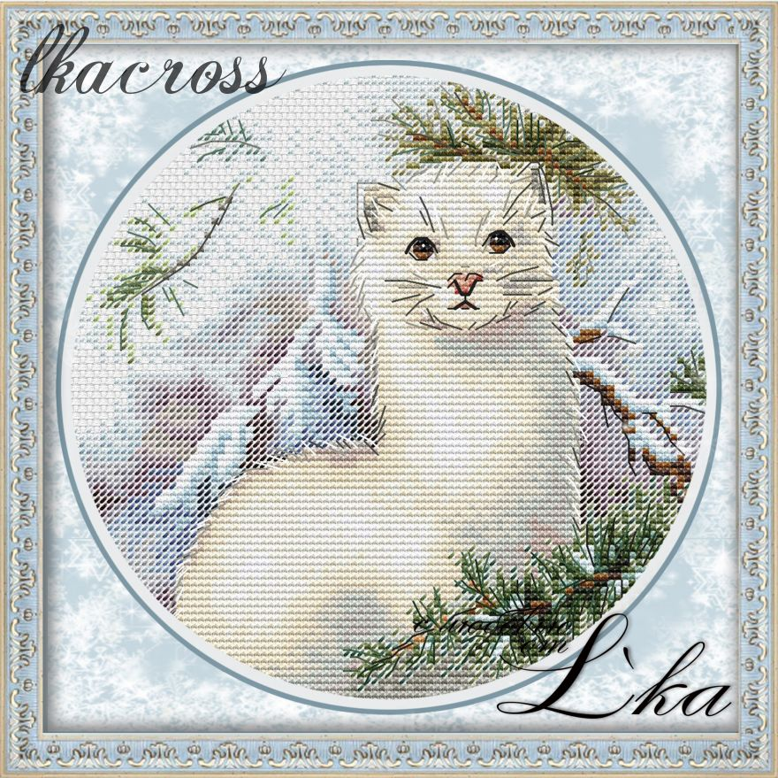 XStitch pattern Weasel