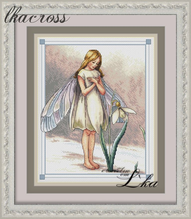 XStitch pattern Fairy spring