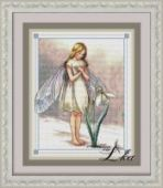 "Cross stitch pattern ""Fairy spring""."