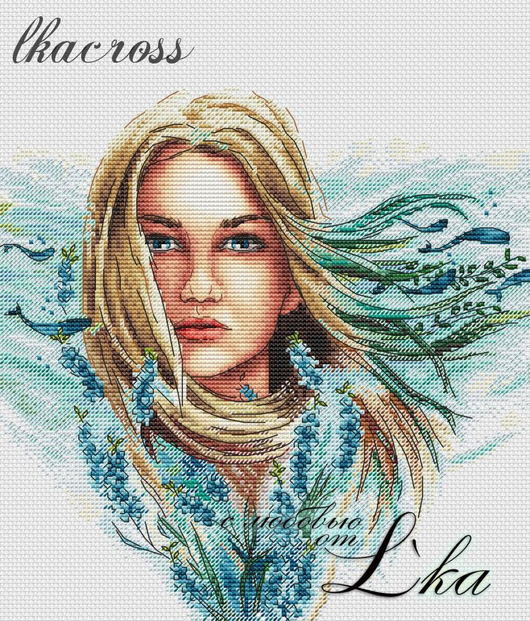 XStitch pattern Wind of change