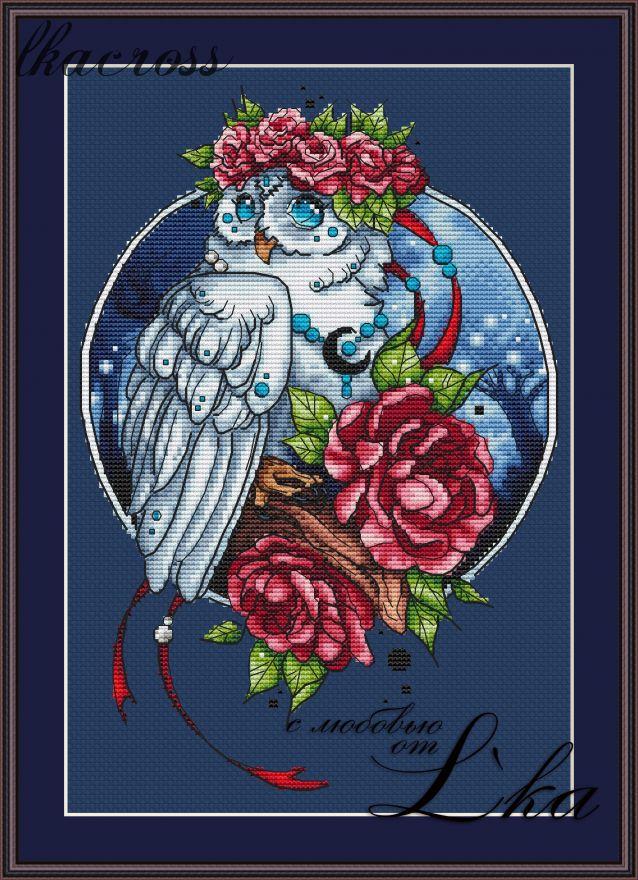 XStitch pattern Owl