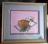 "Cross stitch pattern ""Tea ceremony""."