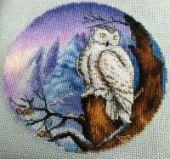 """Cross stitch pattern """"Night watch""""."""
