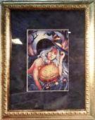 """Cross stitch pattern """"Enchantress""""."""
