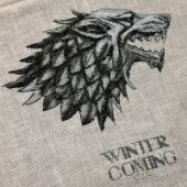 "Cross stitch pattern ""Winter Is Coming""."
