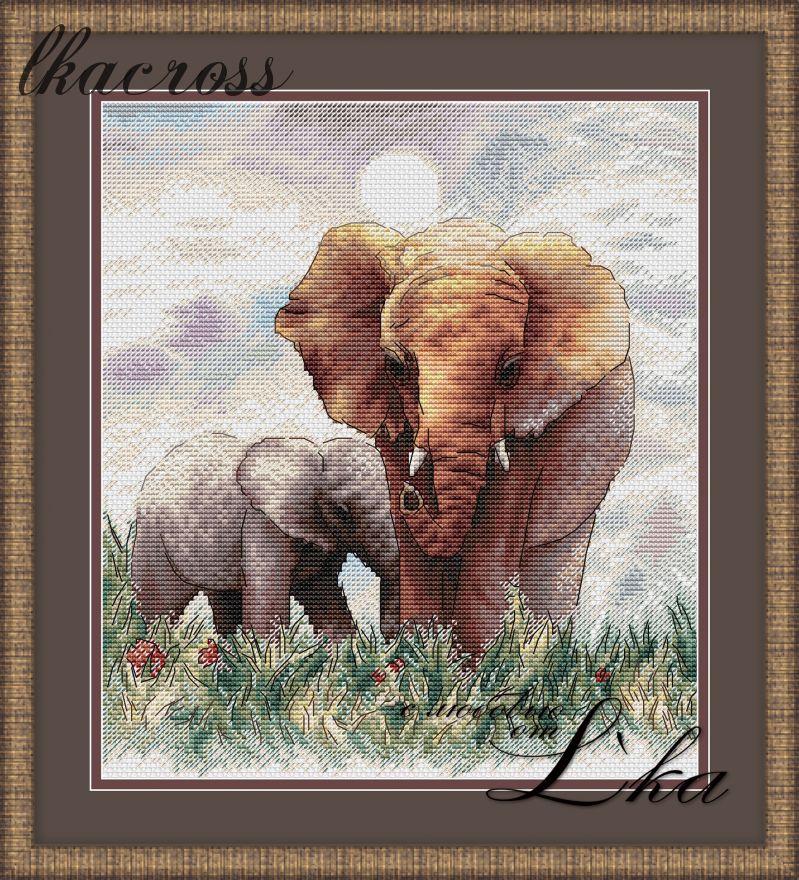 XStitch pattern Elephants