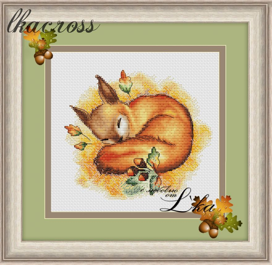 XStitch pattern Autumn dream