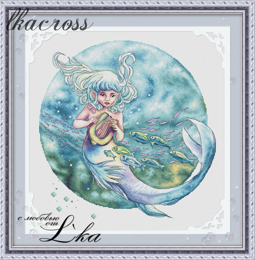 XStitch pattern Ocean child